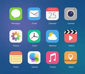 15 Free PSD Templates For Your Next iOS 7 App – Bashooka