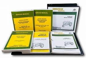 Master Service Parts Manual For John Deere 70 Diesel