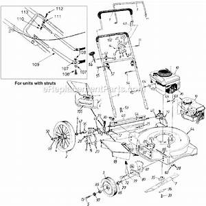 Yard Machines 11a-506f372 Parts List And Diagram