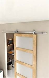 89e systeme coulissant acier pr porte bois magasin de With porte de douche coulissante avec meuble salle de bain brico depot rennes