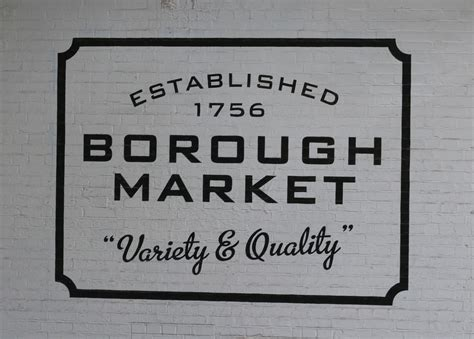borough market sign review rabot 1745 bedale street borough market borough