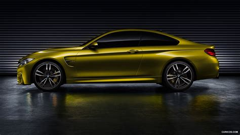 Bmw M4 Coupe Hd Picture by 2013 Bmw M4 Coupe Concept Side Hd Wallpaper 2