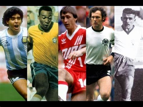 Top 10 Greatest Soccer Players Of All Time  Youtube