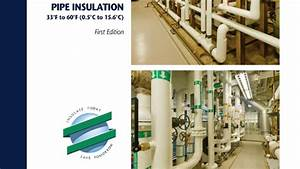 Naima Guide Provides Methods For Insulating Chilled Water