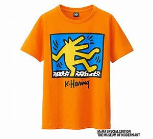 T Shirt Keith Haring : new range of keith haring t shirts for kids at uniqlo junior hipster ~ Melissatoandfro.com Idées de Décoration