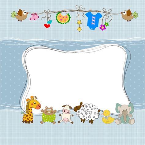 bayi mandi bingkai   vektor vektor gratis