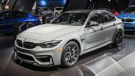 2018 Bmw M3 Cs Revealed This Is The Baddest 3 Series On
