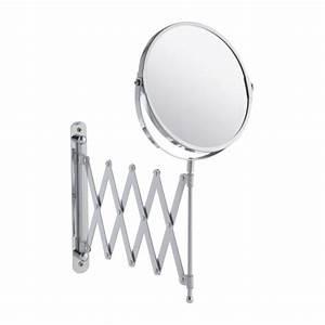 zig zag pull out bathroom mirror habitat With pull out mirror bathroom