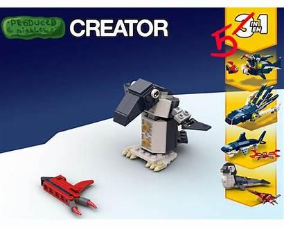 Creatures Alternative Build Sea Deep Penguin Moc