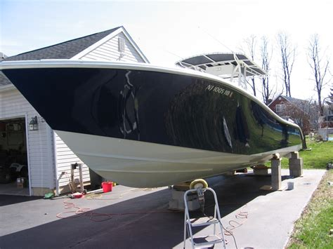 Yellowfin Boat Detailing by Quigley Marine Detailing 36 Yellowfin Cc