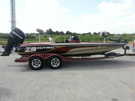 Bass Tracker Boats New Braunfels by Used Nitro Boats For Sale Boats