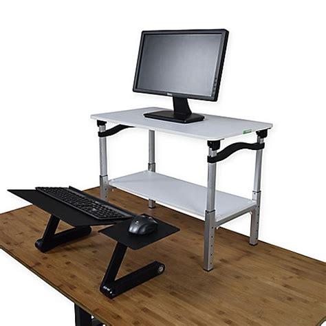 desk lift kit buy lift standing desk conversion kit in white from bed