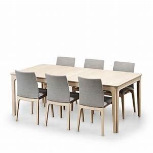 Table De Salle Manger Scandinave En Bois Avec Allonges