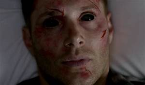 supernatural s9 ep23–Dean with demon eyes