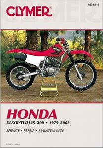 Honda Xl  Xr  U0026 Tlr125-200 1979