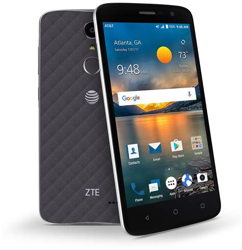 at t zte phone zte blade spark android nougat smartphone launches in the