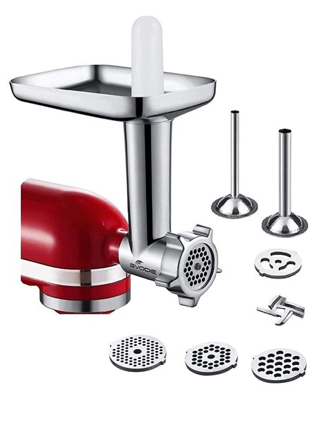 kenmore kitchenaid grinder meat mixer dishwasher precision wash attachment stand sausage processor mixers included