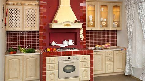 perfect red country kitchen cabinet design ideas for fond d 39 écran photo de la cuisine 1 7 1920x1080 fond d