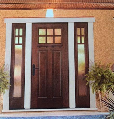 ft craftsman  lite knotty alder front entry door