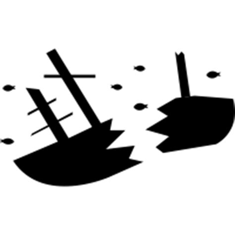 Ship Sinking Pictures by Sunken Ship Icons Noun Project