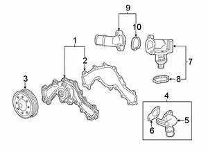 Chevrolet Camaro Thermostat  Housing  Coolant  Engine