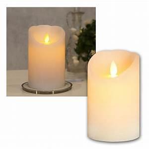 Led Kerze Mit Timer Outdoor : led echtwachs kerze mit timer beweglicher flamme flammenlose flackernd kerzen ebay ~ Eleganceandgraceweddings.com Haus und Dekorationen