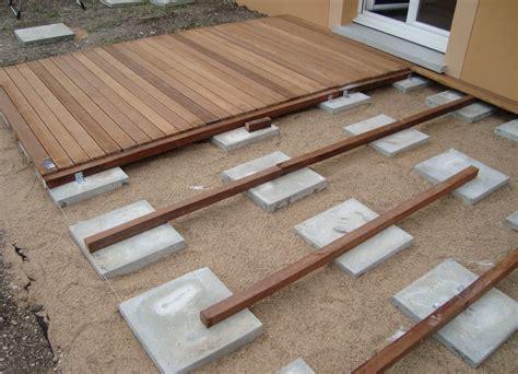 nivrem com pose terrasse bois gravier diverses id 233 es