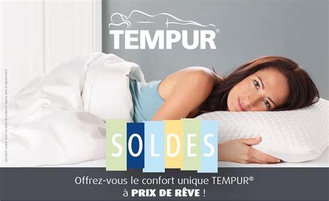 Oreillers Tempur Soldes by Soldes Sur La Literie 224 La Central Du Sommeil Rennes