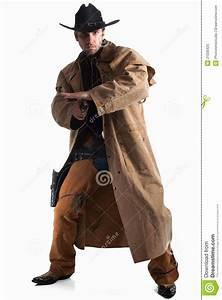 Cowboy Gunfighter Royalty Free Stock Photo - Image: 21030425