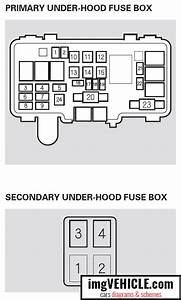 Honda Pilot I Fuse Box Diagrams  U0026 Schemes