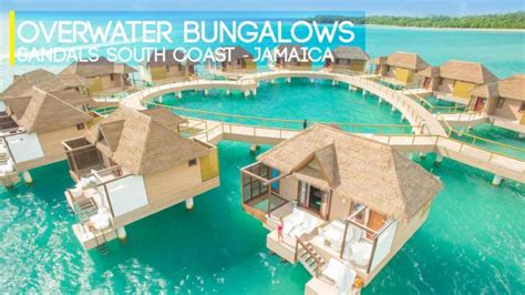 Sandals Resorts Overwater Bungalows In Jamaica Getting