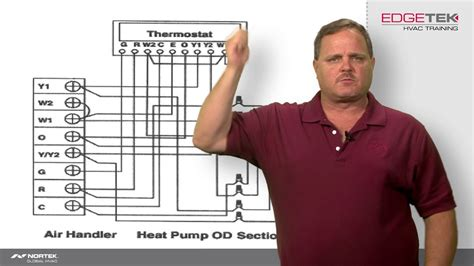 Wiring Two Stage Heat Pump Youtube