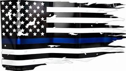 Flag American Distressed Thin Line Transparent Svg