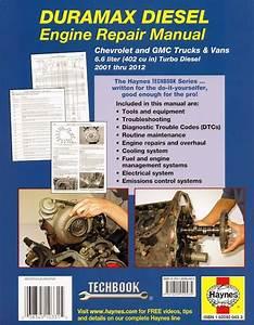 Duramax Diesel Engine Repair Manual 2001