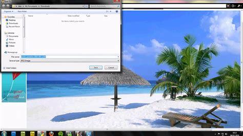 change  desktop background    change