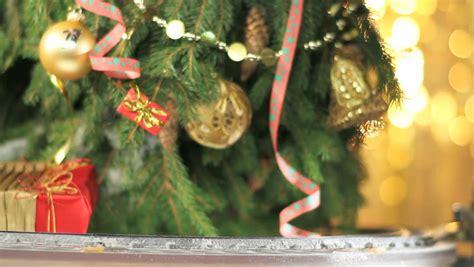 christmas tree loop hd an animated background loop