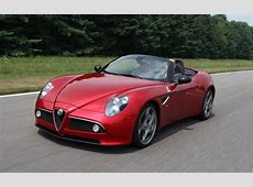 2010 Alfa Romeo 8C Spider First Drive Motor Trend