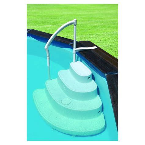 pour piscine escalier vague pour piscine hors sol