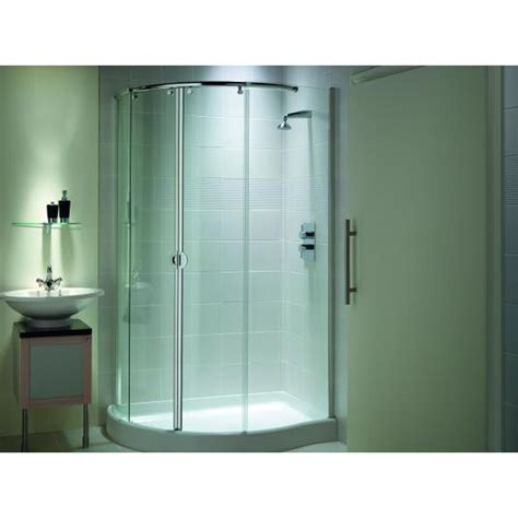 buy shower enclosure matki ecc1290 mirage range offset quad corner shower enclosure buy online at bathroom city