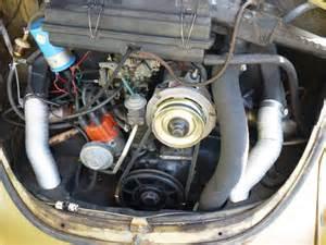 1974 VW Super Beetle Engine