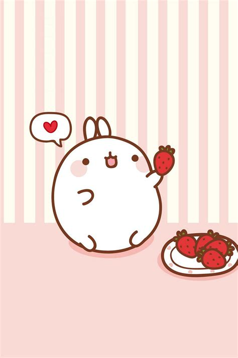 Kawaii Molang Iphone Wallpapers Kawaiifactor