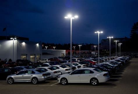outdoor parking lot lighting led outdoor parking lot