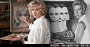Amy Adams in the Big Eyes movie and the real Margaret ...