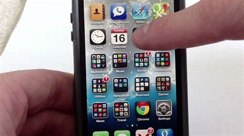 create folder on iphone iphone 5 how to create folders for apps