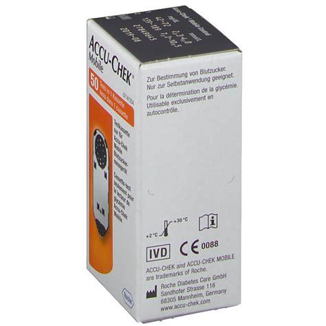 Accu Chek Mobile Cassette by Accu Chek 174 Mobile Prueba Cassette Shop Farmacia Es