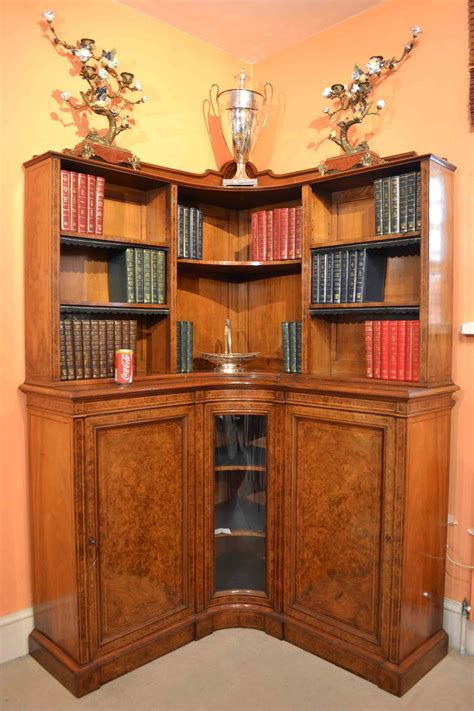 Antique Corner Bookcase by Regent Antiques Bookcases And Display Cabinets Antique