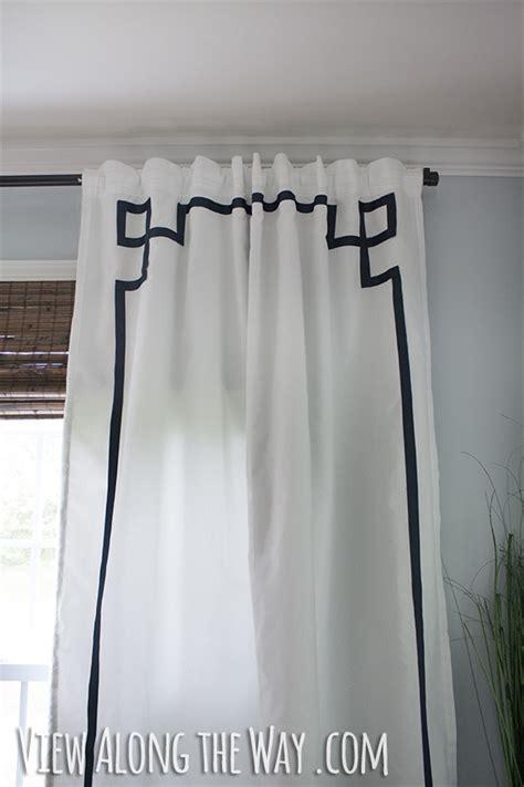 diy no sew key curtain panels