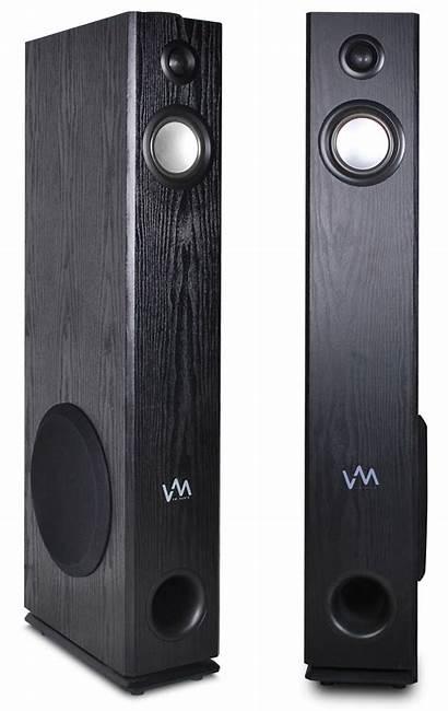 Speakers Bluetooth Tower Audio Powered Pair Walmart