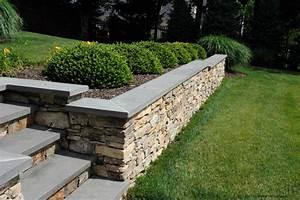 Stone Retaining Wall Construction