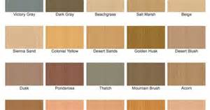 cabot stain semi solid stain color chart exterior